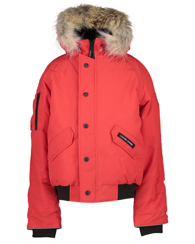 Canada Goose Kids Rundle Bomber Red