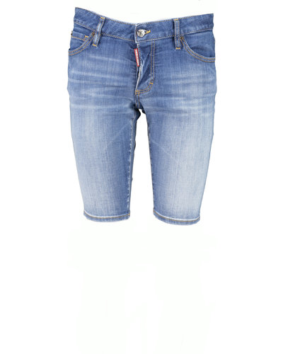 Dsquared2 Denim Short Blauw