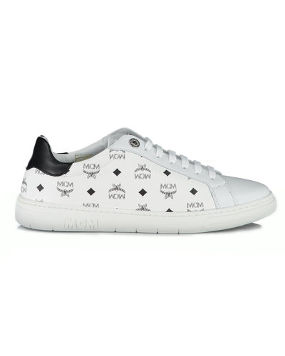MCM Worldwide Terrain Derby Sneakers White