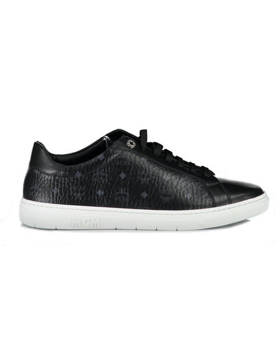 MCM Worldwide Terrain Derby Sneakers Zwart