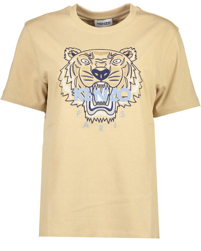 Kenzo Loose Fit Tiger T-shirt Beige