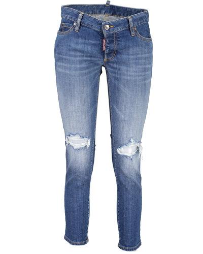 Dsquared2 Jennifer Cropped Jeans Blau