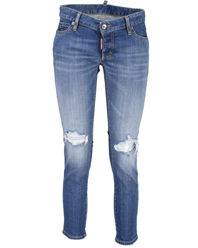 Dsquared2 Jennifer Cropped Jeans Blauw