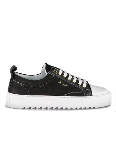Mason Garments Astro Nubuck Leather Sneakers Zwart