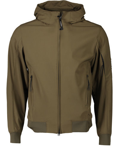C.P. Company Soft Shell Jacket Legergroen