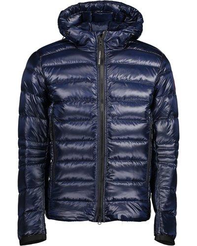Canada Goose Crofton Hoody Jacket Blauw
