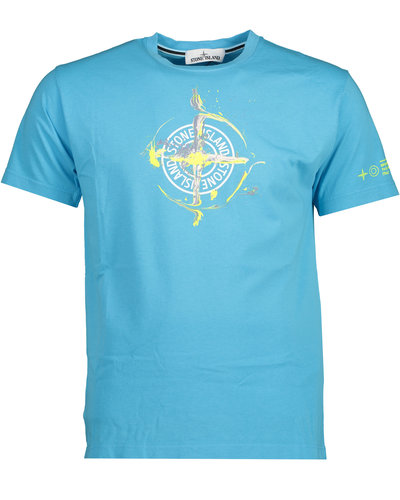 Stone Island 2NS83 Marble One T-shirt Turquoise