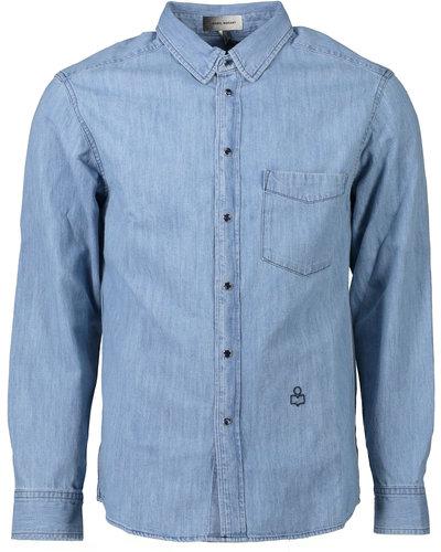 Isabel Marant Laho Jeans Shirt Blauw