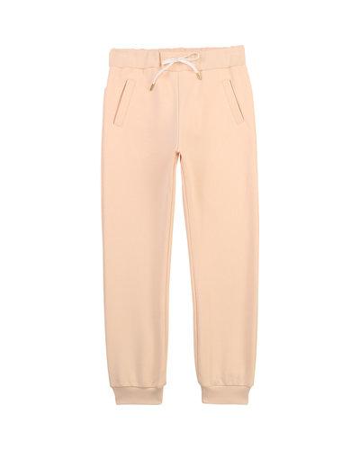 Chloé Kids Back Logo Pants Pink