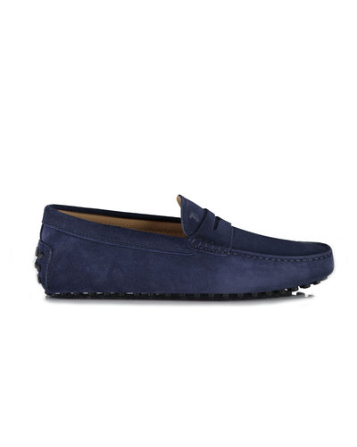 TOD'S Moccasins Navy