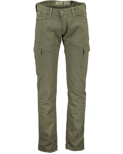 Japan Rags Jogg Cargo Pants Army Green