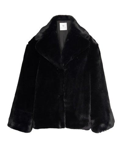 Anine Bing Calvin Coat Zwart