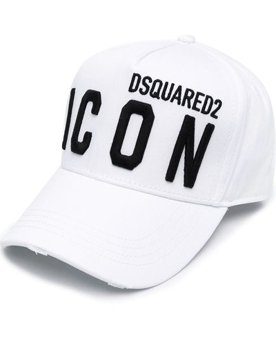 Dsquared2 Icon Cap Wit / Zwart