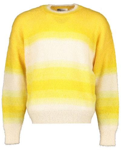 Isabel Marant Drusselih Pullover Geel