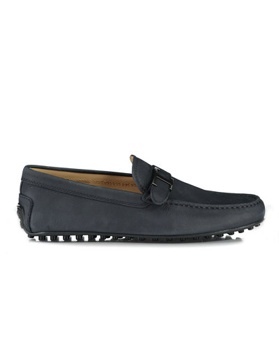 TOD'S Laterale City Moccasins Dark Blue