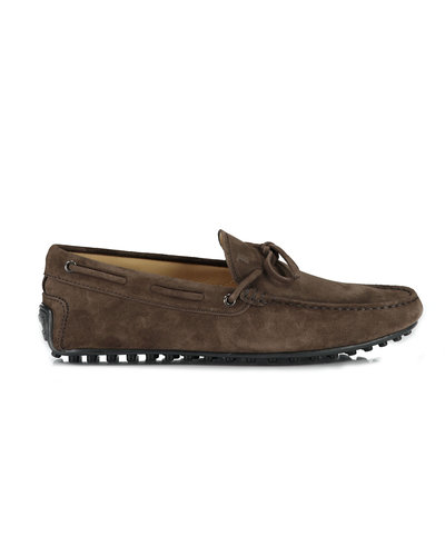 TOD'S Laccetto  City Moccacins Braun