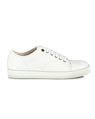 Lanvin Paris Captoe Lyon Sneakers Wit