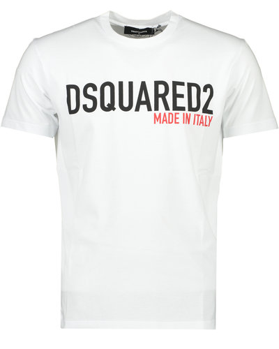 Dsquared2 Made in Italy  T-shirt Wit