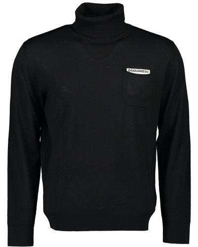 Dsquared2 Pocket Logo Pullover Zwart