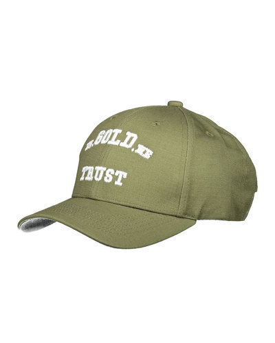 In Gold We Trust The Babe Cap Groen