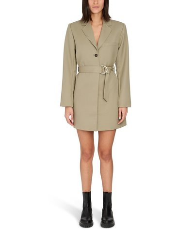 Anine Bing Campbell Dress Army Green