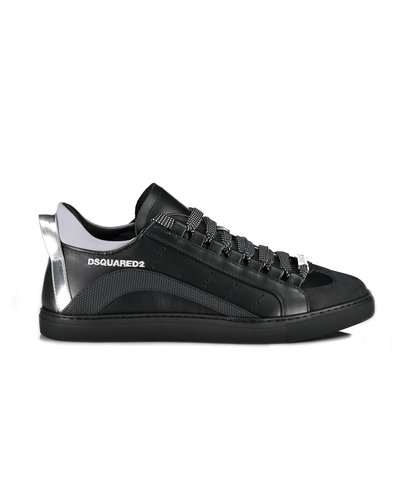 Dsquared2 Lace-Up Low Top 551  Sneaker Zwart