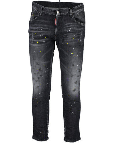 Dsquared2  x Ibrahimovic Icon Talent Skater Jeans Zwart