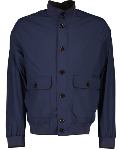 MooRER Carlos Jacket Blau