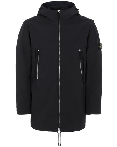 Stone Island 40627 Light Soft Shell-R Jacket Marine