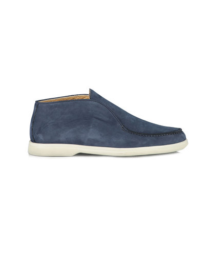 Corneliani Suede Slip On Marine
