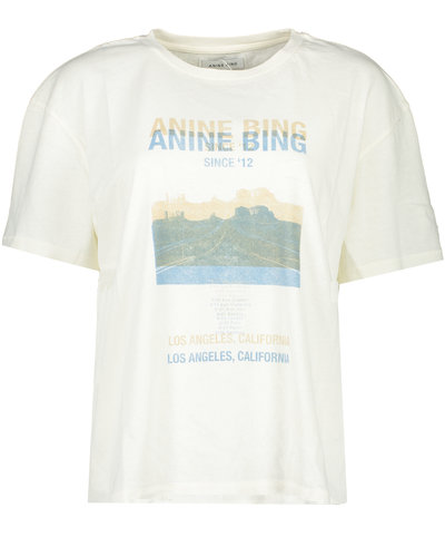 Anine Bing Harper T-shirt Offwhite