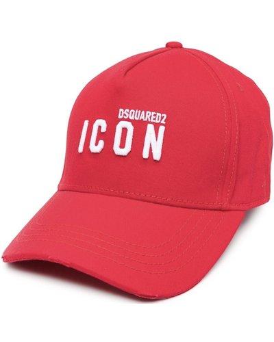 Dsquared2 Mini Icon Logo Cap Red