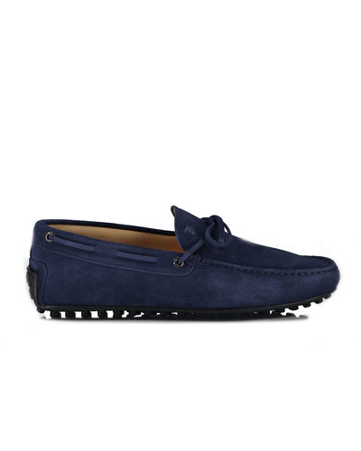 TOD'S Laccetto  City Moccacins Marine