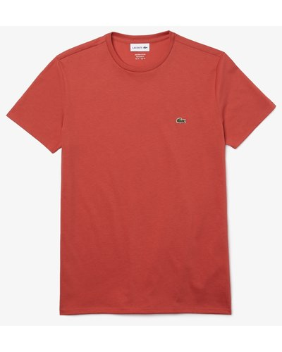 Lacoste Round Neck T-shirt Red