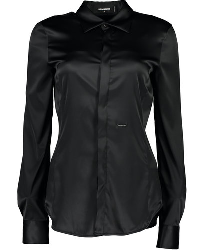 Dsquared2 Fitted Shirt Schwarz