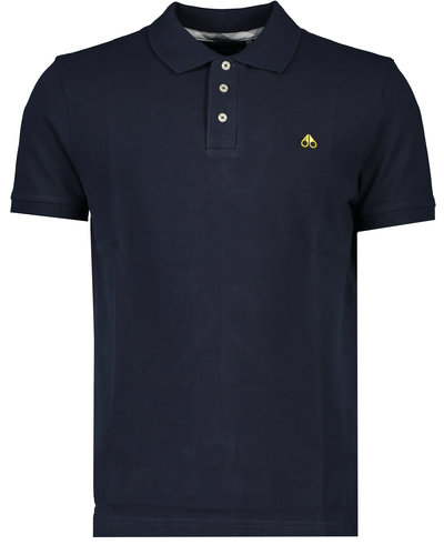 Moose Knuckles Gold Polo Marine