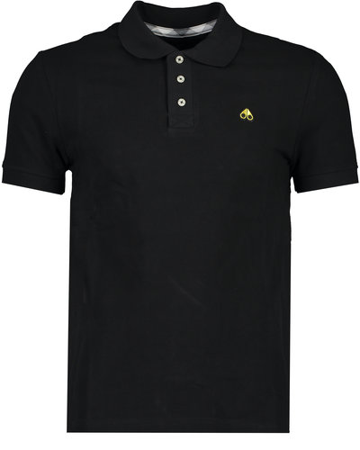 Moose Knuckles Gold Polo Black