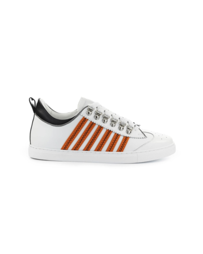 Dsquared2 251 Lace Up Low Top Sneakers Weiß