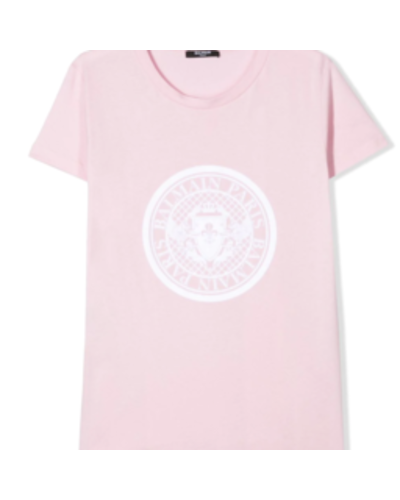 Balmain Kids T-shirt Rosa