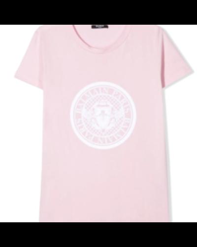 Balmain Kids T-shirt Roze
