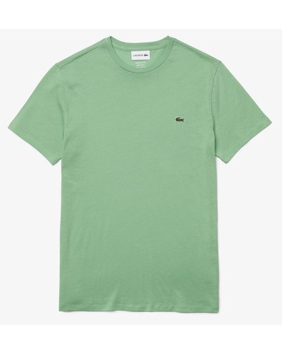 Lacoste Round Neck T-shirt Green