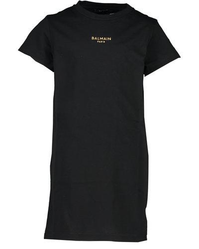 Balmain Kids Dress Black