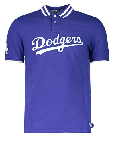 Polo Ralph Lauren MLB Capsule Dodgers Polo Blauw  (Only in Store)