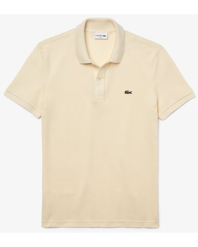 Lacoste Slim Fit Polo Natural