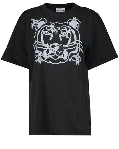 Kenzo Tiger BeeT-shirt  Schwarz