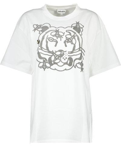 Kenzo Tiger BeeT-shirt  Wit
