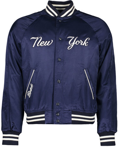 Polo Ralph Lauren Baseball Jacket Yankees Marine (Only in Store)