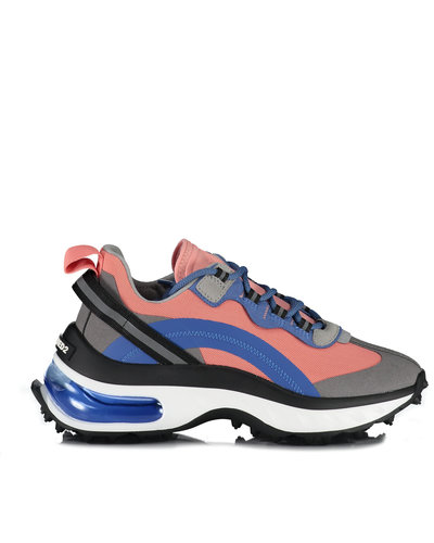 Dsquared2 Lace Up Evolution Bubble Sneakers Blue/Pink