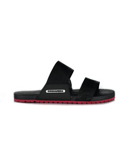 Dsquared2 Onyx Beach Sandals Zwart