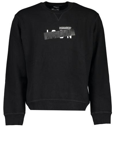 Dsquared2 Icon Tape Sweater Zwart